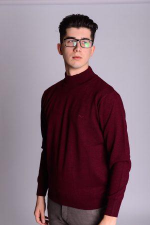 Bordo debeli džemper