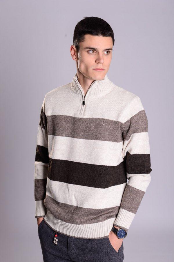 Muški Džemper sa Linijama